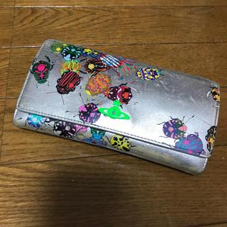 ヴィヴィアンウエストウッド(Vivienne Westwood)のヴィヴィアンウエストウッド ビートル シルバー 長財布(財布)