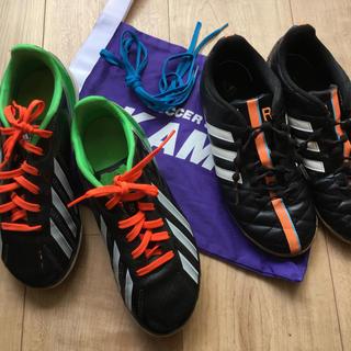 adidas - アディダススパイク&室内サッカーシューズ21cm