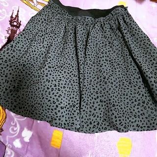 ローリーズファーム(LOWRYS FARM)のレオパード柄 スカート(ミニスカート)