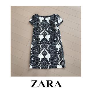 ZARA - ZARA ペイズリー柄ドレス