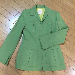 シビラ(Sybilla)のシビラ スモーキーグリーンの春夏ジャケット(テーラードジャケット)