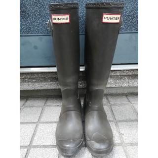 ハンター(HUNTER)のHUNTER レインブーツ(ブラウン)(レインブーツ/長靴)