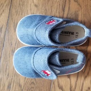 ニシマツヤ(西松屋)の靴 13.5センチ(スニーカー)