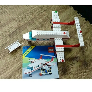 Lego - レゴ パーツ&取説セット 救急空輸機