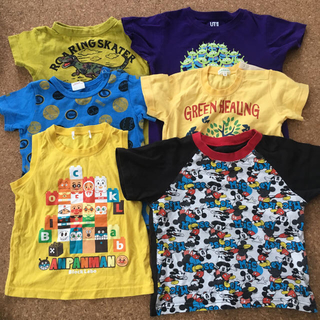 Tシャツ6枚セット95〜110