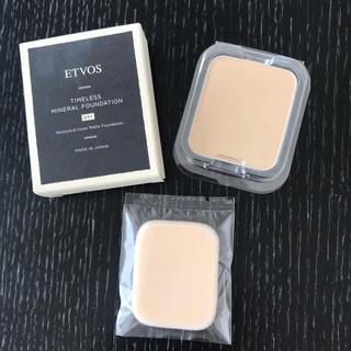 エトヴォス(ETVOS)のエトヴォス タイムレスミネラルファンデーション(ファンデーション)