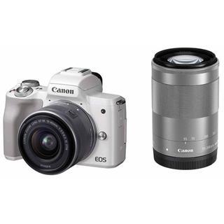 Canon - 新品未使用 オマケ多数! Canon EOS Kiss M ダブルズーム
