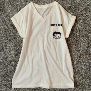 ZARA - 新品・未使用/BETTY BOOP/ポケットプリントTシャツ