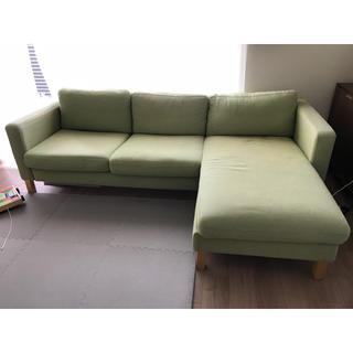 イケア(IKEA)の引取限定 IKEA3人掛けソファ(三人掛けソファ)