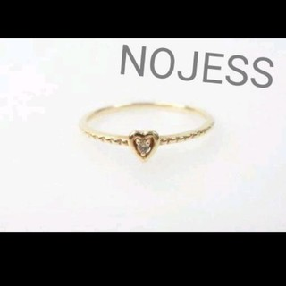 ノジェス(NOJESS)のNOJESS/ダイヤ/K10リング(リング(指輪))
