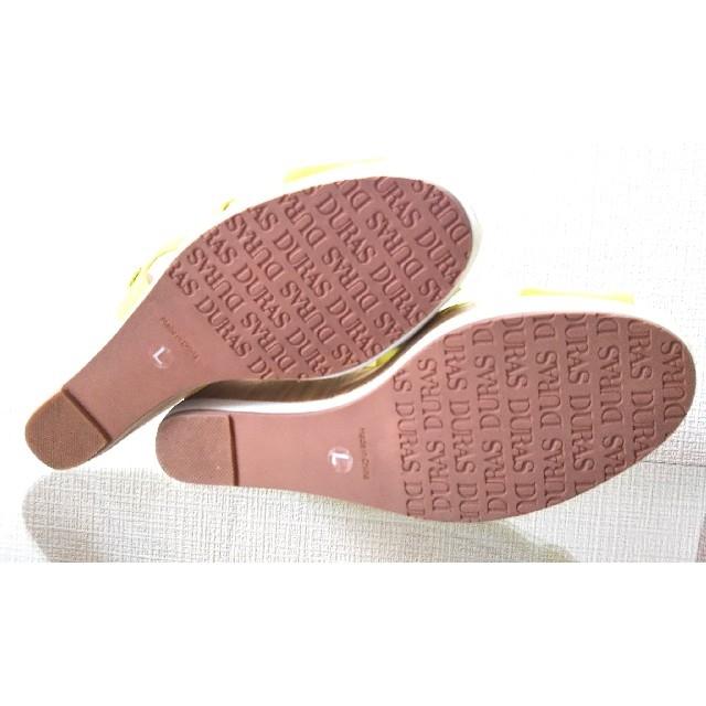 DURAS(デュラス)のDURAS/デュラス ウエッジヒール/ウェッジソールサンダル レディースの靴/シューズ(ハイヒール/パンプス)の商品写真