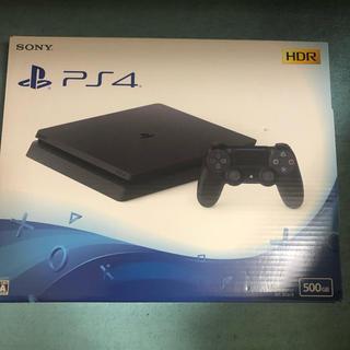 PlayStation4 - ps4 本体 500GB ジェットブラック CUH-2200AB01