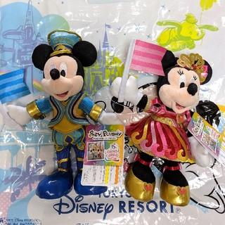 Disney - ディズニー ランド 35周年 ポージープラッシー ミッキー ミニー セット