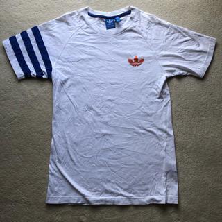 アディダス(adidas)のアディダス Tシャツ M ホワイト(Tシャツ(半袖/袖なし))
