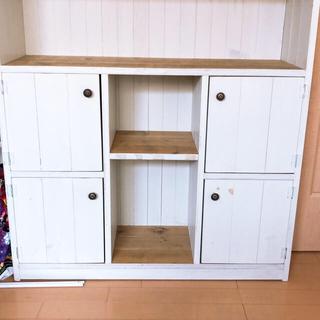 飾り棚、物入れ、シンプル、可愛い