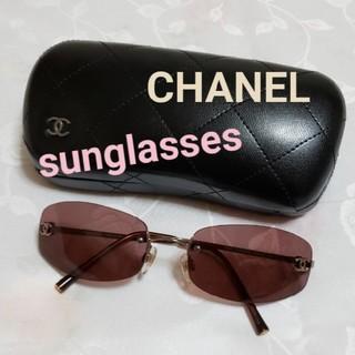 CHANEL - CHANEL サングラス ピンクパープル ココマーク