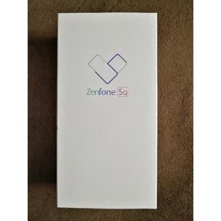 アンドロイド(ANDROID)の最終価格 新品未開封 ASUS Zenfone5Q(スマートフォン本体)