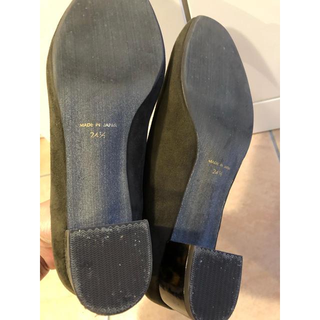 Le Talon(ルタロン)のルタロン スエードパンプス 24.5 レディースの靴/シューズ(ハイヒール/パンプス)の商品写真