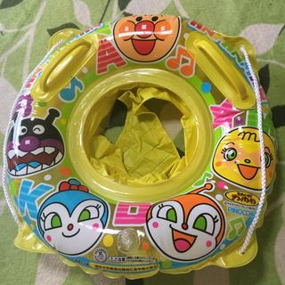 アンパンマン - 美品❣️アンパンマン ・ドキンちゃばいきんマン柄 足入れ 幼児用浮き輪