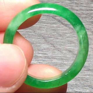 天然 ミャンマー産翡翠 リング(リング(指輪))