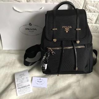 PRADA - プラダ          リュック         ブラック