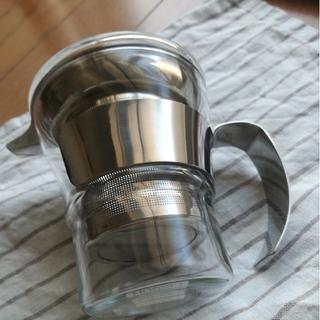 ボダム(bodum)のbodum グラス ティーストレーナー&蓋(タンブラー)