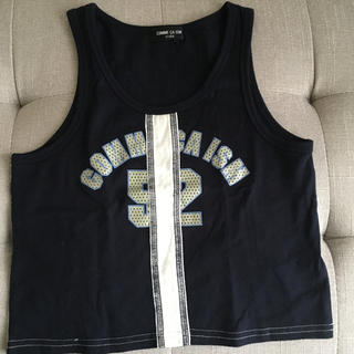 コムサイズム(COMME CA ISM)のコムサタンクトップ(Tシャツ/カットソー)