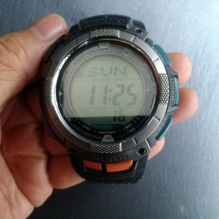 カシオ(CASIO)のカシオPROTREK腕時計1点、おまけクロノグラフ腕時計2点(腕時計(デジタル))