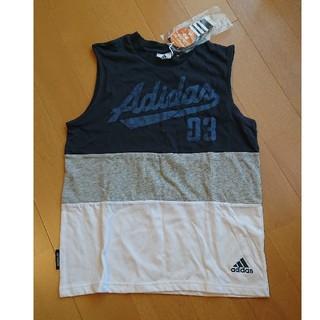 アディダス(adidas)の【新品】アディダス ノースリーブ 150(Tシャツ/カットソー)