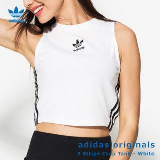 アディダス(adidas)のadidas クロップドタンクトップ(タンクトップ)
