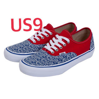 Supreme - Fucking Awesome x Vans Blue/Red