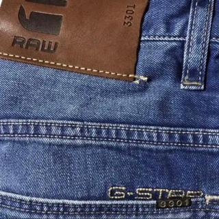 ジースター(G-STAR RAW)の新品 G-STAR RAW/28インチ/3301 STRAIGHTウォッシュBL(デニム/ジーンズ)