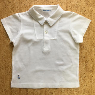 ファミリア(familiar)の美品 ファミリア ポロシャツ 半袖 シャツ 90(ブラウス)