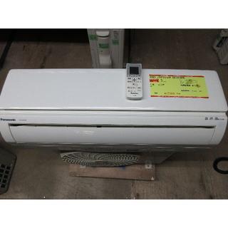 パナソニック(Panasonic)のK621 パナソニック 中古エアコン 冷2.2kw/暖2.2kw(エアコン)