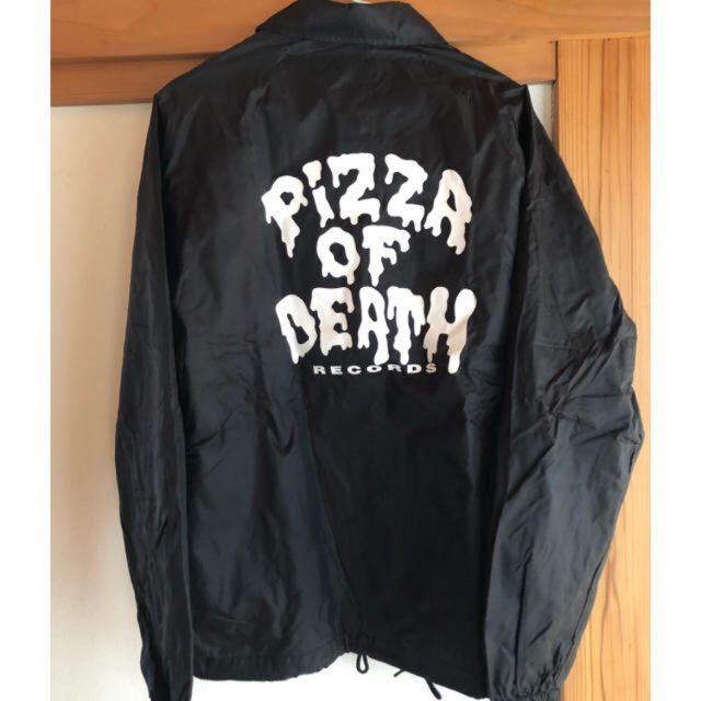 HIGH!STANDARD(ハイスタンダード)のpizza of  death コーチジャケット 新品 メンズのジャケット/アウター(ナイロンジャケット)の商品写真