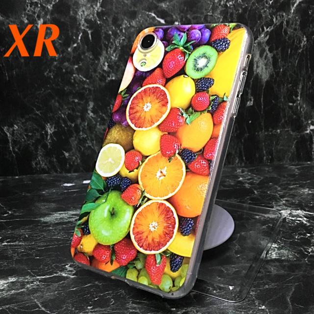 iphone8 プラス ケース クリア / アイフォンXR iPhoneXRソフトケース☆フルーツ☆カラフル☆送料無料の通販 by ロゴ's shop|ラクマ