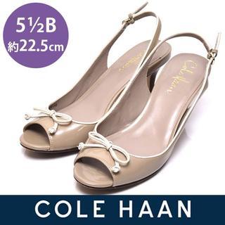 コールハーン(Cole Haan)のコールハーン リボン NIKE AIR  パンプス 5 1/2B(約22.5cm(サンダル)