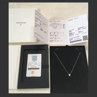 デビアス(DE BEERS)のフォーエバーマーク エターナルコレクション ネックレス(ネックレス)