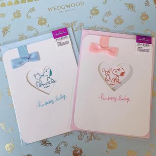 ピーナッツ(PEANUTS)のスヌーピー♡グリーティングカード♡NEW BORN♡SNOOPY(カード/レター/ラッピング)
