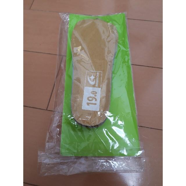 中敷き インソール ジュニア 19cm メンズの靴/シューズ(その他)の商品写真