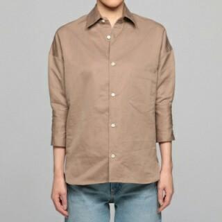 マディソンブルー(MADISONBLUE)のMADISONBLUE シャツ サイズ01 ベージュ マディソンブルー(シャツ/ブラウス(長袖/七分))