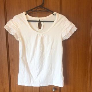 シマムラ(しまむら)の袖レースTシャツ(Tシャツ(半袖/袖なし))