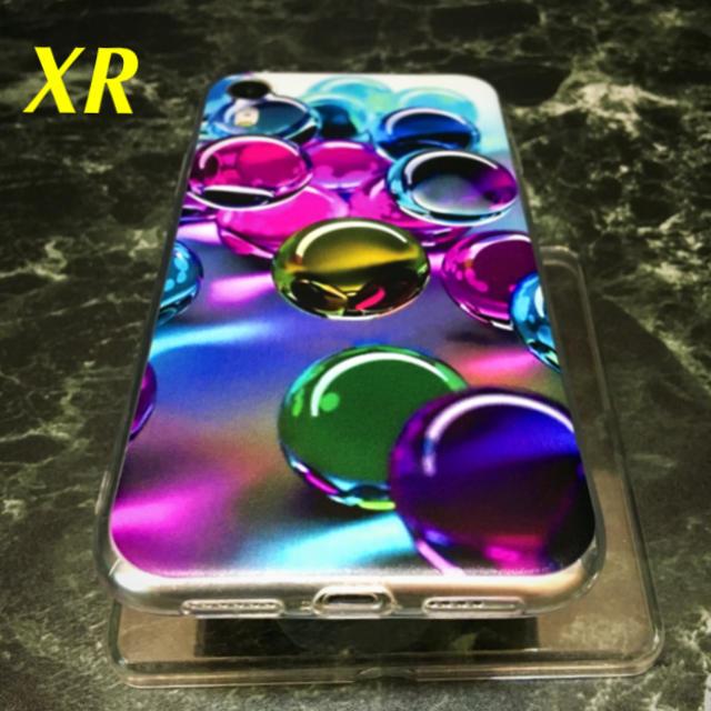 アイフォンXR iPhoneXRソフトケース☆ビー玉☆マーブル☆送料無料の通販 by ロゴ's shop|ラクマ