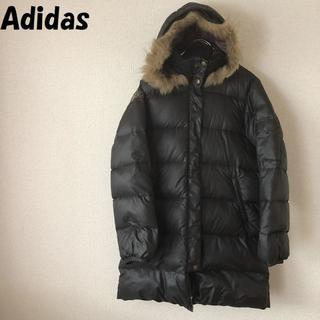 アディダス(adidas)の【人気】Adidas/アディダス ダウンコート ファー付きフード サイズL(ダウンコート)