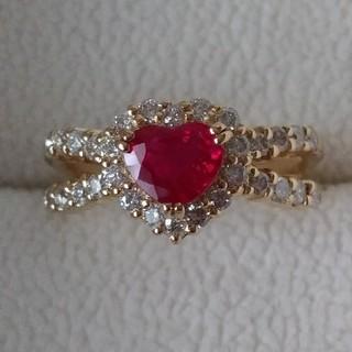 ポンテヴェキオ(PonteVecchio)のPonte Vecchioルビー&ダイヤモンドリング(リング(指輪))