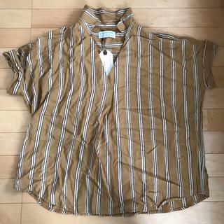 チャオパニックティピー(CIAOPANIC TYPY)のCIAOPANIC TYPY スキッパーシャツ 新品(シャツ/ブラウス(半袖/袖なし))