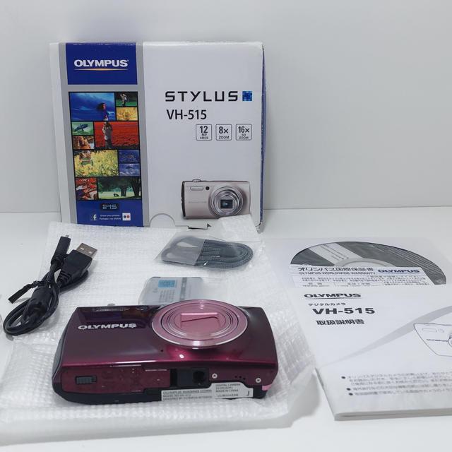 OLYMPUS(オリンパス)のZ122★ 開封未使用品OLYMPUSデジタルカメラ STYLUS VH-515 スマホ/家電/カメラのカメラ(コンパクトデジタルカメラ)の商品写真