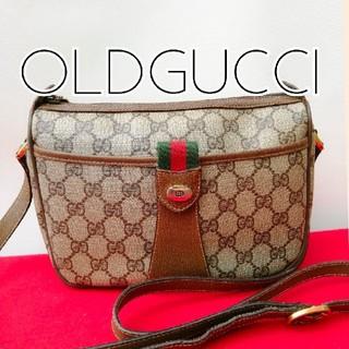 efcbc52d9867 グッチ(Gucci)の良品 オールドグッチ シェリーライン ビンテージショルダーバッグ レトロ 正規品
