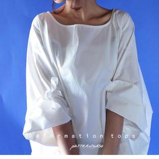 アンティカ(antiqua)のアンティカ    コットンデザイントップス 新品(シャツ/ブラウス(長袖/七分))