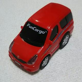 トヨタ(トヨタ)のミニカー トヨタ ファンカーゴ プルバック(ミニカー)